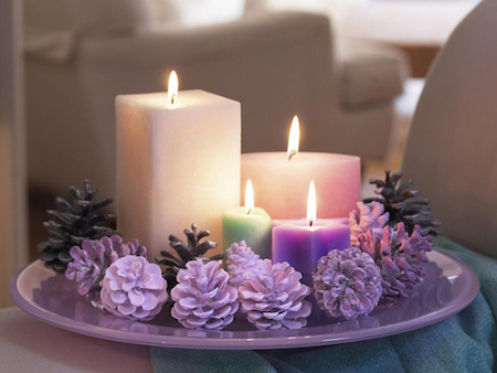 purple-candles